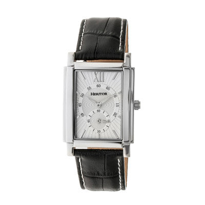 Heritor Automatic Frederick Leather-Band Watch - HERHR6101