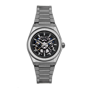 Heritor Automatic Atlas Bracelet Watch - Black - HERHS1307