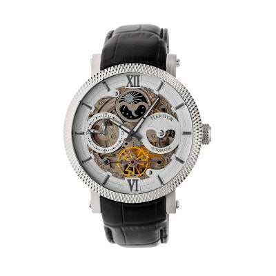 Heritor Automatic Aries Skeleton Dial Men's Watch - HERHR4404