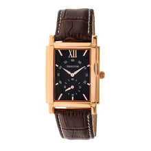 Load image into Gallery viewer, Heritor Automatic Frederick Leather-Band Watch - Rose Gold/Black - HERHR6105