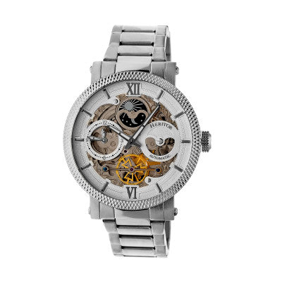 Heritor Automatic Aries Skeleton Dial Men's Watch - HERHR4401