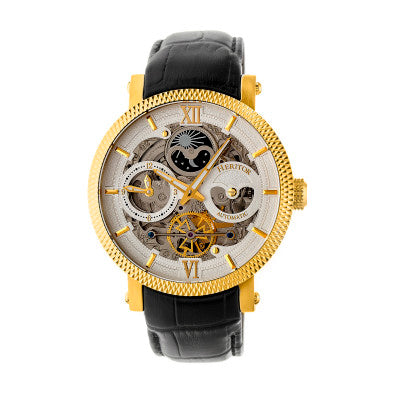 Heritor Automatic Aries Skeleton Dial Men's Watch - HERHR4406