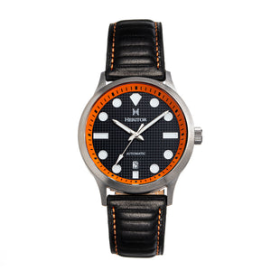 Heritor Automatic Bradford Leather-Band Watch w/Date