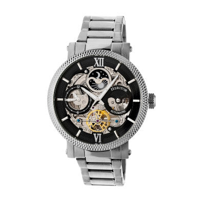Heritor Automatic Aries Skeleton Dial Men's Watch - HERHR4402