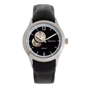 Heritor Automatic Antoine Semi-Skeleton Bracelet Watch