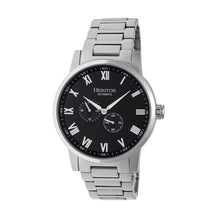 Load image into Gallery viewer, Heritor Automatic Romulus Bracelet Watch - Silver/Black - HERHR6402