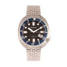Load image into Gallery viewer, Heritor Automatic Morrison Bracelet Watch w/Date - Black/Blue - HERHR7612