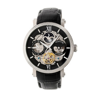 Heritor Automatic Aries Skeleton Dial Men's Watch - HERHR4405