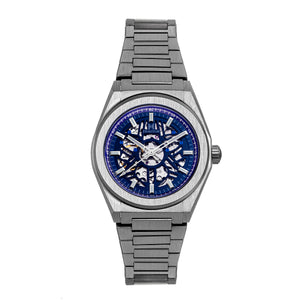 Heritor Automatic Atlas Bracelet Watch - Blue - HERHS1303