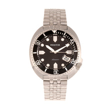 Load image into Gallery viewer, Heritor Automatic Morrison Bracelet Watch w/Date - Black - HERHR7609