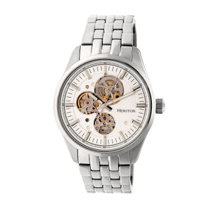 Heritor Automatic Stanley Semi-Skeleton Men's Watch