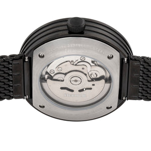 Heritor Automatic Jasper Skeleton Bracelet Watch - Black - HERHR8702