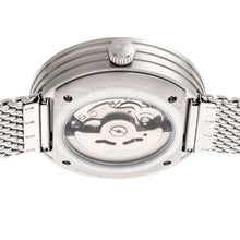 Load image into Gallery viewer, Heritor Automatic Jasper Skeleton Bracelet Watch - Silver  - HERHR8701