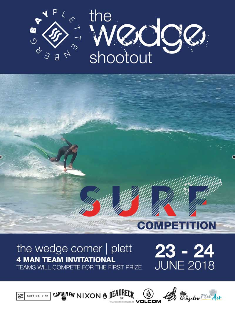 The Wedge Shootout Plettenberg Bay