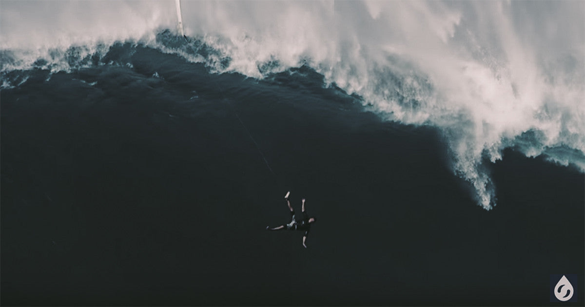 Crazy Wipeout, Big Wave Surfing