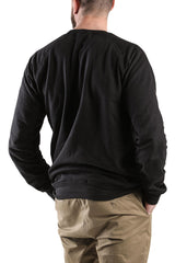 Long sleeve Black fleece top by Dead Reckoning