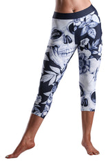 Dead Reckoning, Ladies Tights, Freebooter, South Africa Clothing Brand, Black Flag Collection, Gym Tights, Skulls, Pirates