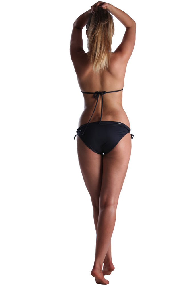 Dead Reckoning, Bikini, Top, Bottom, Padded Bikini, South African Clothing Brand, Black Bikini, Summer Bikini, Black Flag Collection