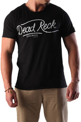 Dead Reckoning, T-shirt, Tee, South Africa, Brand, Black Cotton, MMA, Surfing, Front