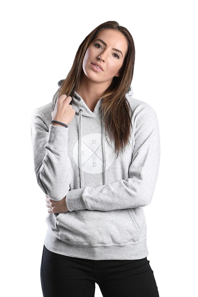 Ladies Grey Hoodie Dead Reckoning Clothing Brand South Africa