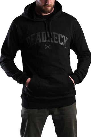 DEADRECK, HOODED FLEECE, BLACK HOODIE, SOUTH AFRICA, TOP BRAND, DEAD RECKONING