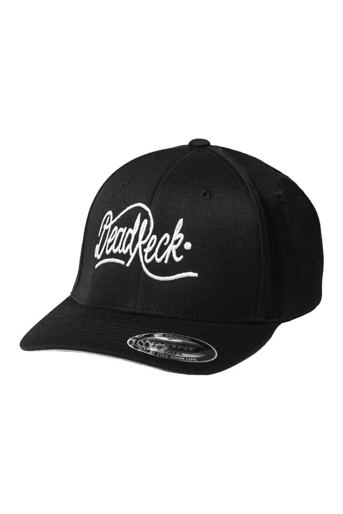Dead reckoning premium baseball styled peak black fitted with curved peak South African Top Brand