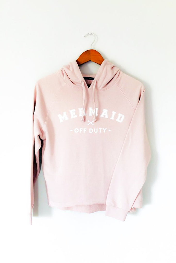 Mermaid off duty cropped ladies hoodie south africa dead reckoning