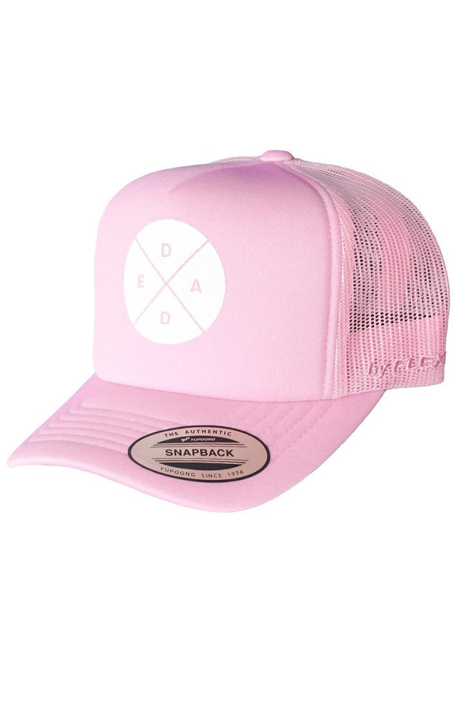 Ladies Pink Dead Reckoning Trucker Cap