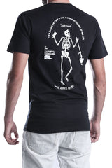 MENS-WHITE-COTTON-TEE-DEAD-RECKONING-BLACK-FLAG--BLACKK-BEARD-FRONT-VIEW