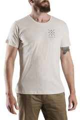 Mens Natural Organic Cotton Tee