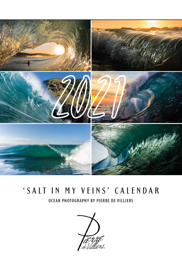 Salt in my veins 2021 calendar