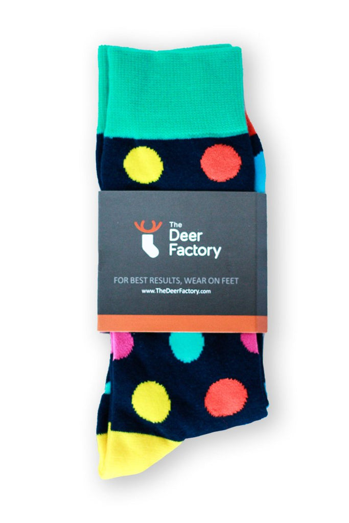 Polka Dot Socks by the Deer Factory Funky socks