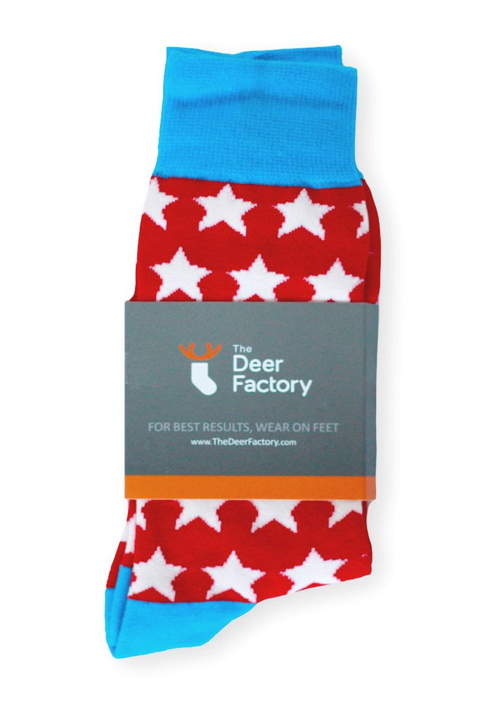 Star Socks by The Deer Factory