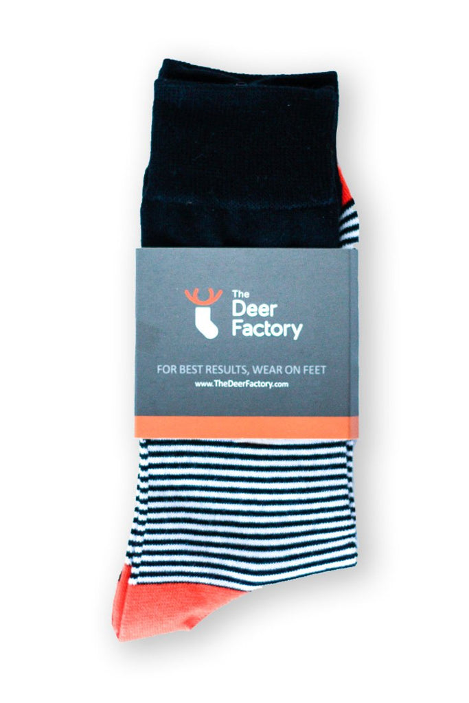 Prison Stripe Socks from The Deer Factory