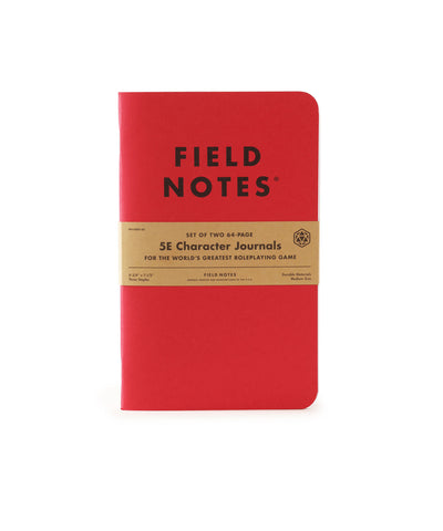 FIELD NOTES - 5E Character Journal 2-Pack