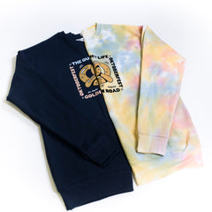 Steven Harrington x Golden Road x QL - Crew Neck Sweatshirt (Tie Dye)