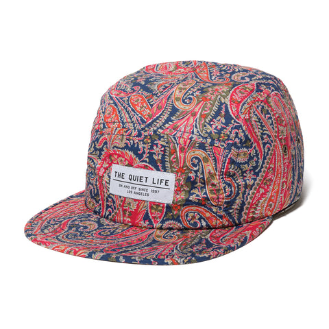 Paisley 5 Panel Camper Hat - Made in USA
