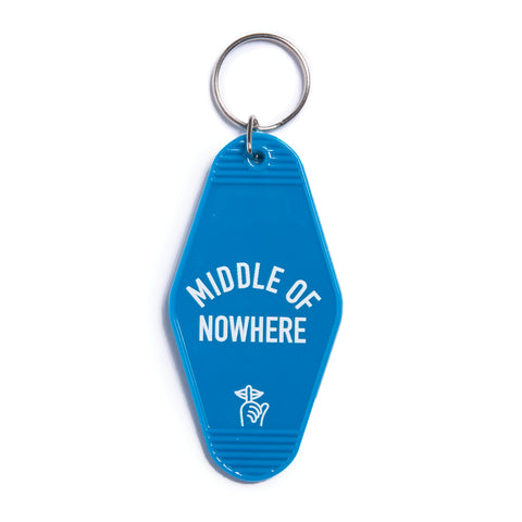 Middle of Nowhere Keychain