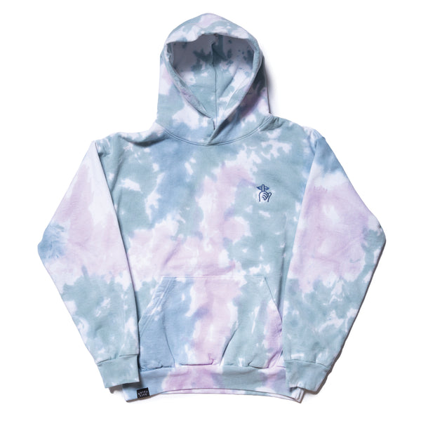 Shhh Tie Dyed Fleece Hood - Made in USA