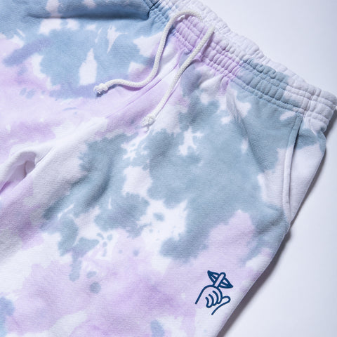 Shhh Tie Dyed Fleece Pant - Made in USA