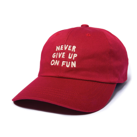 Never Give Up Dad Hat