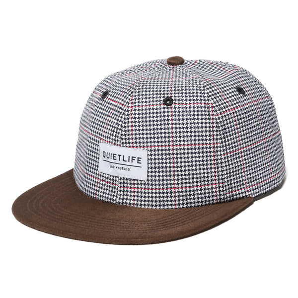 Houndstooth Polo Hat - Made in USA