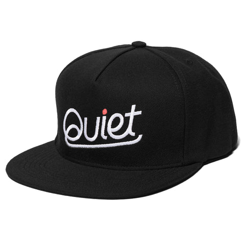 Script Snapback Hat - Made in USA