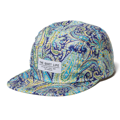 Pastel Paisley 5 Panel Camper Hat - USA