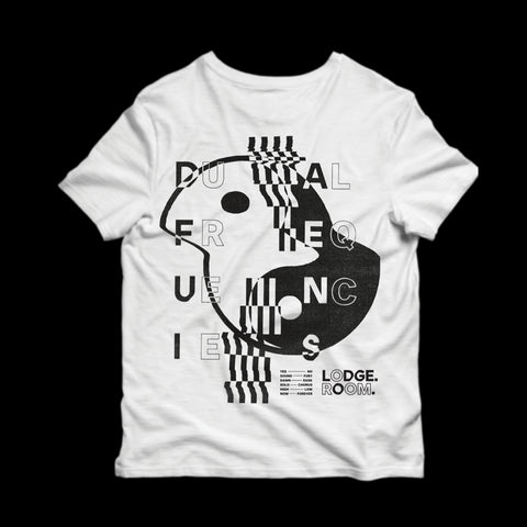 LODGE ROOM x QL : DUAL FREQUENCIES - NIVA CHARITY TEE