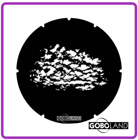 GOBOLAND STEEL GOBO 2 120 014 860      Dappled cloud small