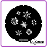 GOBOLAND STEEL GOBO 2 140 011 860      7 flakes of snow