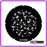 GOBOLAND STEEL GOBO 2 260 008 860     Fine dappled leaves