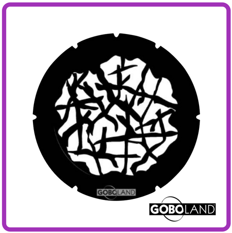 GOBOLAND STEEL GOBO 2 270 030 860      Tangled wood positive