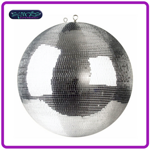 "30cm (12"") PROFESSIONAL MIRRORBALL WITH 5MM X 5MM FACETS"